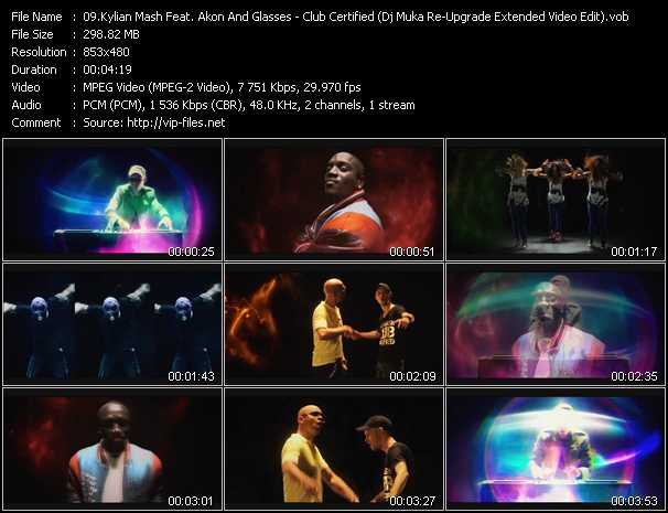 Kylian Mash Feat. Akon And Glasses Malone - Club Certified (Dj Muka Re-Upgrade Extended Video Edit)