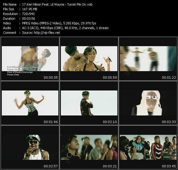 Keri Hilson Feat. Lil' Wayne - Turnin Me On