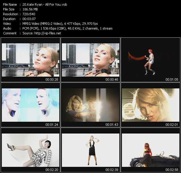 Kate Ryan - All For You