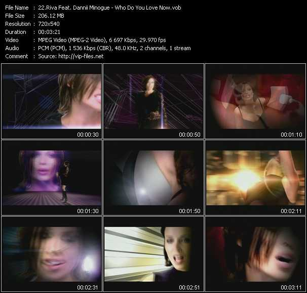 Riva Feat. Dannii Minogue - Who Do You Love Now
