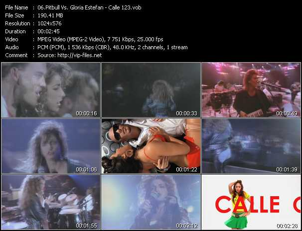 Pitbull Vs. Gloria Estefan - Calle 123