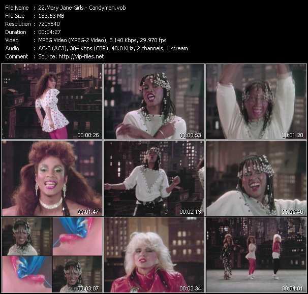 Mary Jane Girls - Candyman