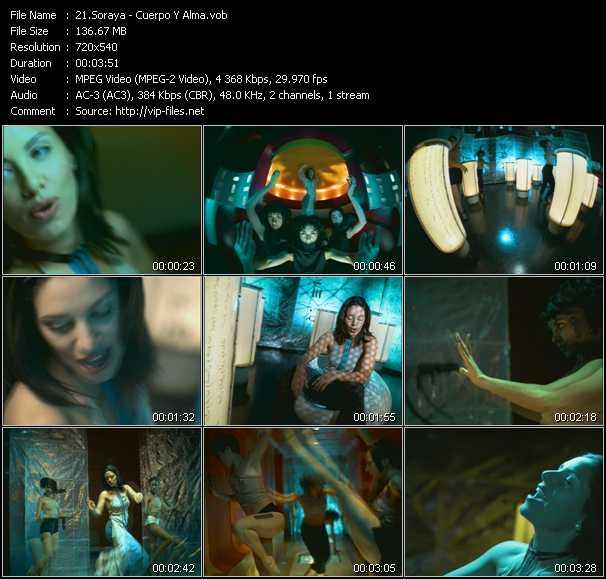 Soraya (Soraya Lamilla) - Cuerpo Y Alma
