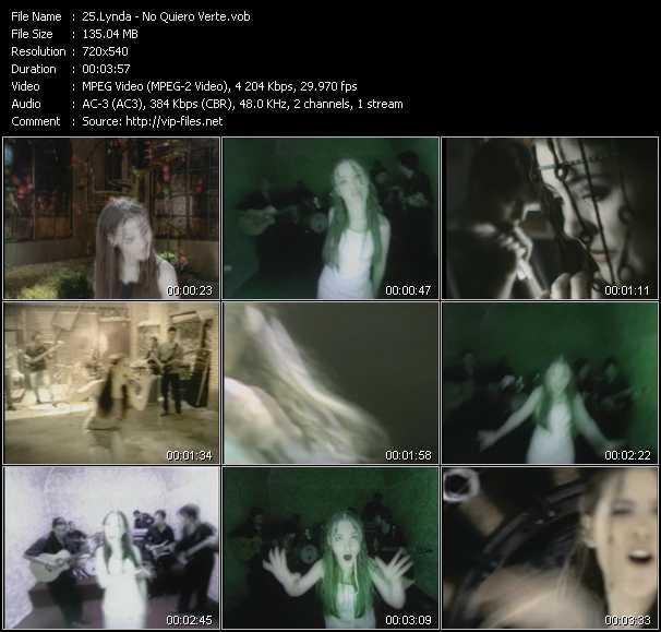 Lynda - No Quiero Verte