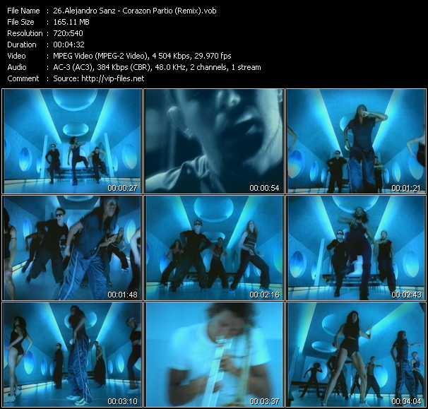 Alejandro Sanz - Corazon Partio (Remix)