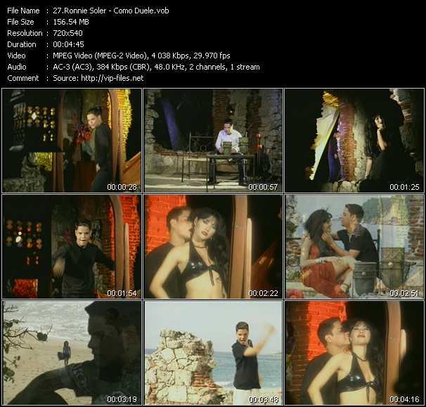 Ronnie Soler - Como Duele