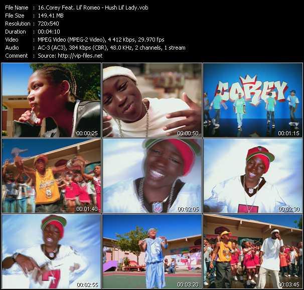 Corey Feat. Lil' Romeo - Hush Lil' Lady