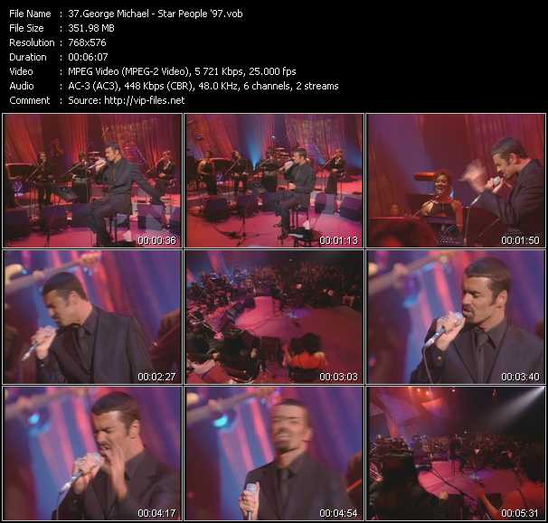 George Michael - Star People '97