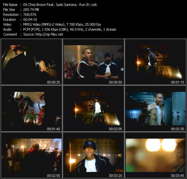 Chris Brown Feat. Juelz Santana - Run It!