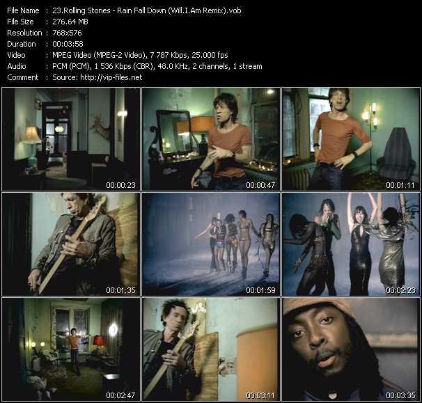 Rolling Stones - Rain Fall Down (Will.I.Am Remix)