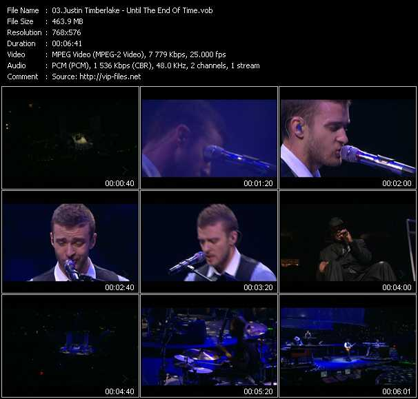 Justin Timberlake - Until The End Of Time