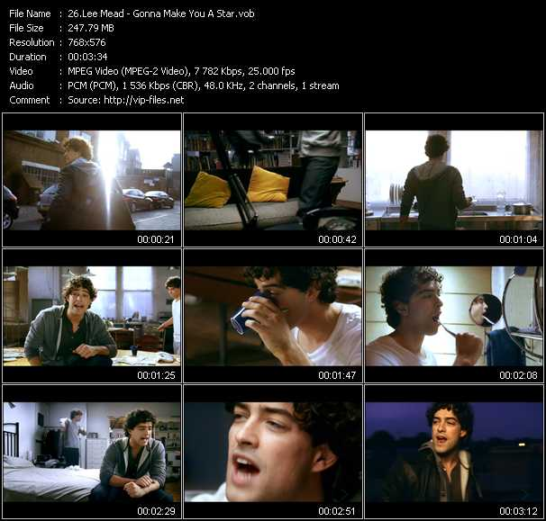 Lee Mead - Gonna Make You A Star