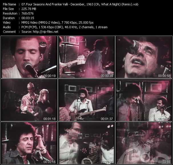 Four Seasons And Frankie Valli - December, 1963 (Oh, What A Night) (Remix)