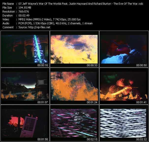 Jeff Wayne And Ben Liebrand (Jeff Wayne's War Of The Worlds Feat. Justin Hayward And Richard Burton) - The Eve Of The War (Ben Liebrand Remix)