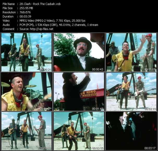 Clash - Rock The Casbah