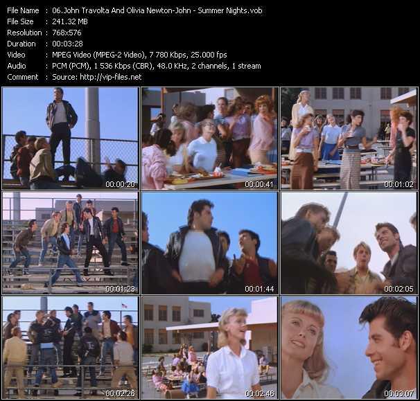John Travolta And Olivia Newton-John - Summer Nights