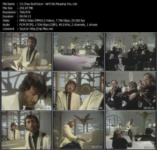 Chas And Dave - Ain't No Pleasing You