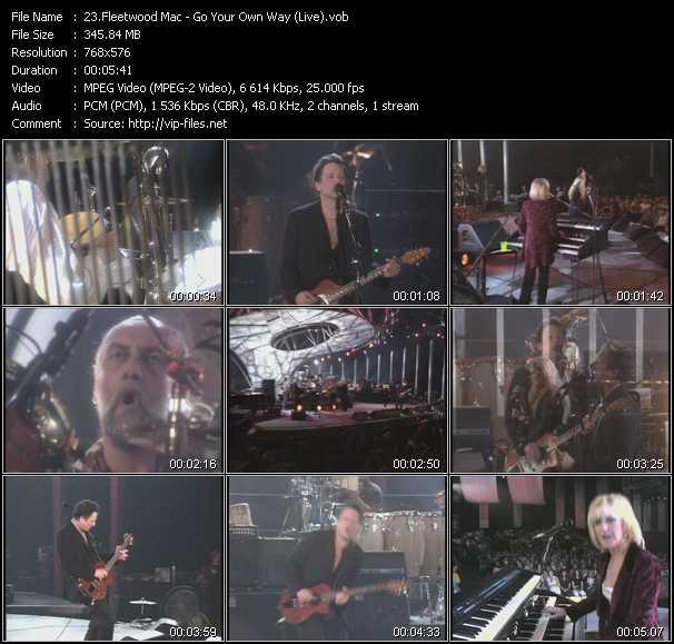 Fleetwood Mac - Go Your Own Way (Live)
