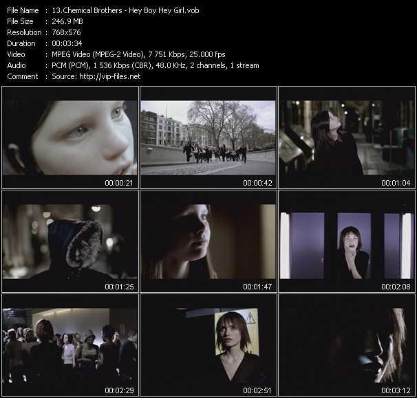 Chemical Brothers - Hey Boy Hey Girl