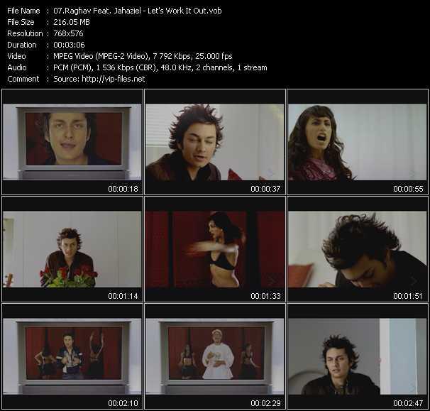 Raghav Feat. Jahaziel - Let's Work It Out