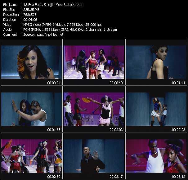 Fya Feat. Smujji - Must Be Love
