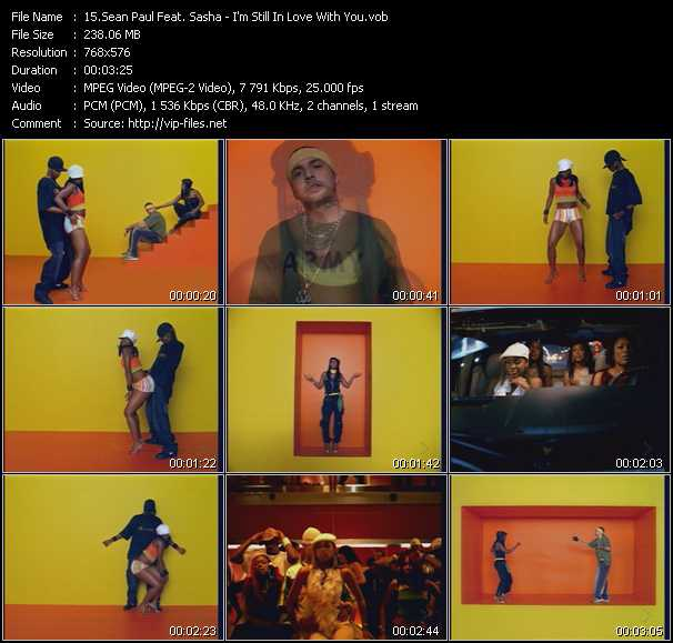 Sean Paul Feat. Sasha - I'm Still In Love With You