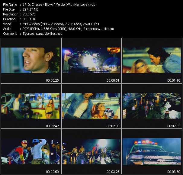 Jc Chasez - Blowin' Me Up (With Her Love)