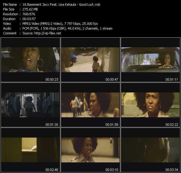 Basement Jaxx Feat. Lisa Kekaula - Good Luck