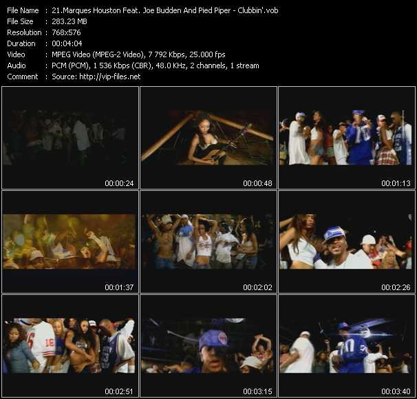 Marques Houston Feat. Joe Budden And Pied Piper - Clubbin'