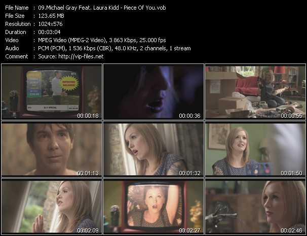 Michael Gray Feat. Laura Kidd - Piece Of You