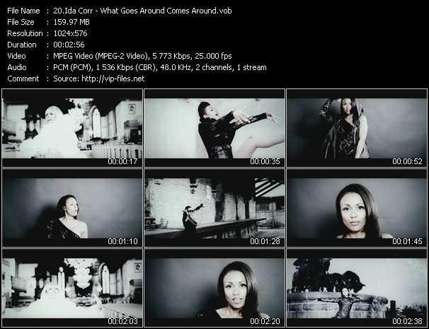 Ida Corr - What Goes Around Comes Around