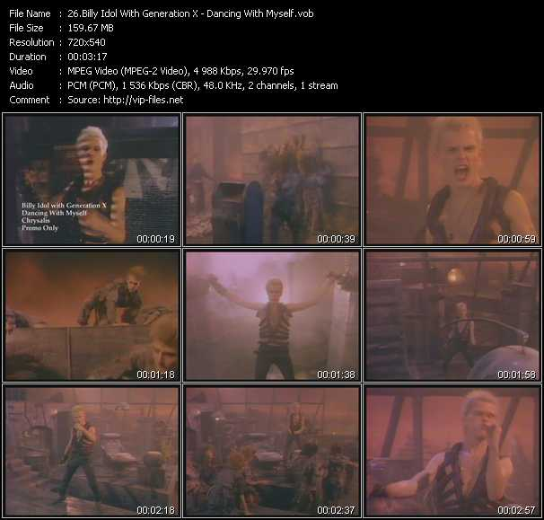 Billy Idol With Generation X - Dancing With Myself