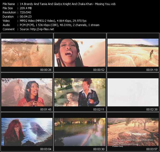 Brandy And Tamia And Gladys Knight And Chaka Khan - Missing You