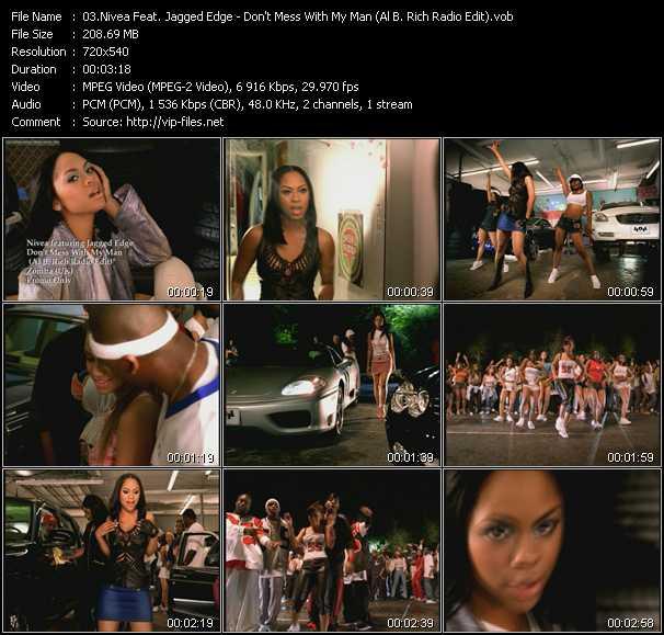 Nivea Feat. Jagged Edge - Don't Mess With My Man (Al B. Rich Radio Edit)