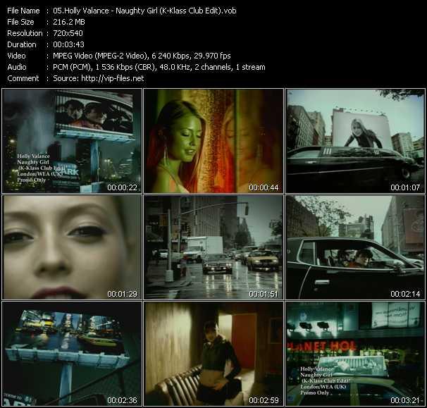 Holly Valance - Naughty Girl (K-Klass Club Edit)