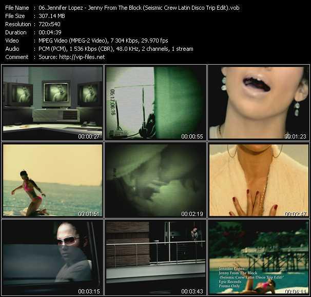 Jennifer Lopez - Jenny From The Block (Seismic Crew Latin Disco Trip Edit)
