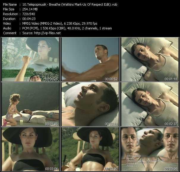 Telepopmusik - Breathe (Watkins Mark-Us Of Respect Edit)
