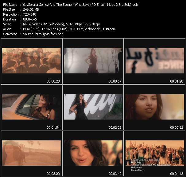 Selena Gomez And The Scene - Who Says (PO Smash Mode Intro Edit)