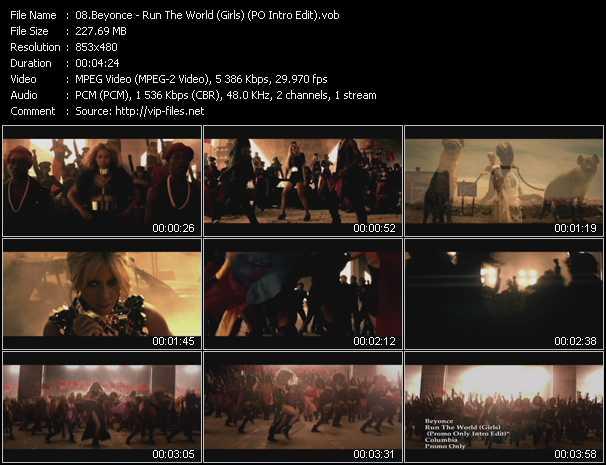 Beyonce - Run The World (Girls) (PO Intro Edit)