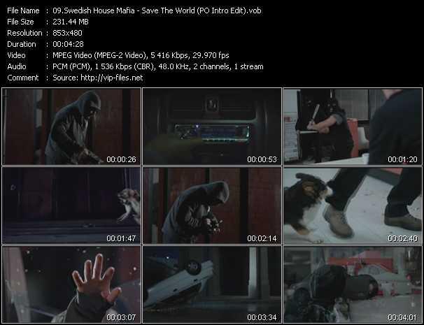 Swedish House Mafia - Save The World (PO Intro Edit)