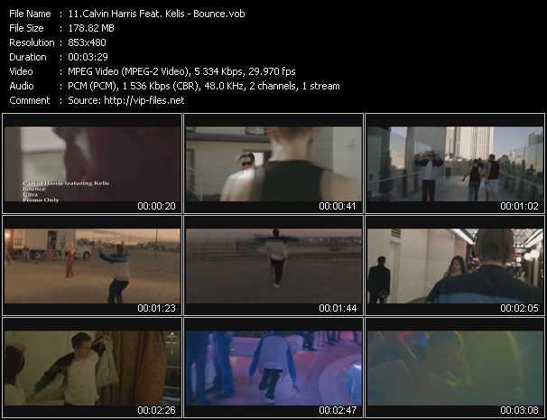 Calvin Harris Feat. Kelis - Bounce