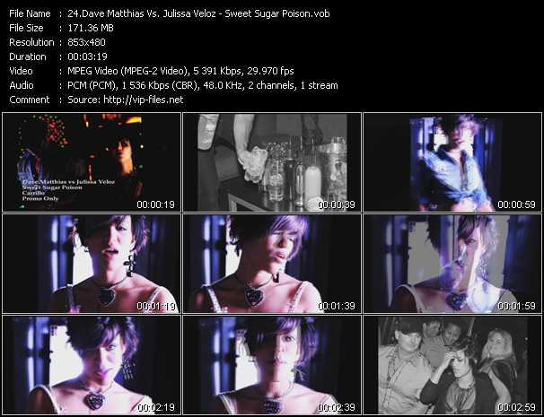 Dave Matthias Vs. Julissa Veloz - Sweet Sugar Poison