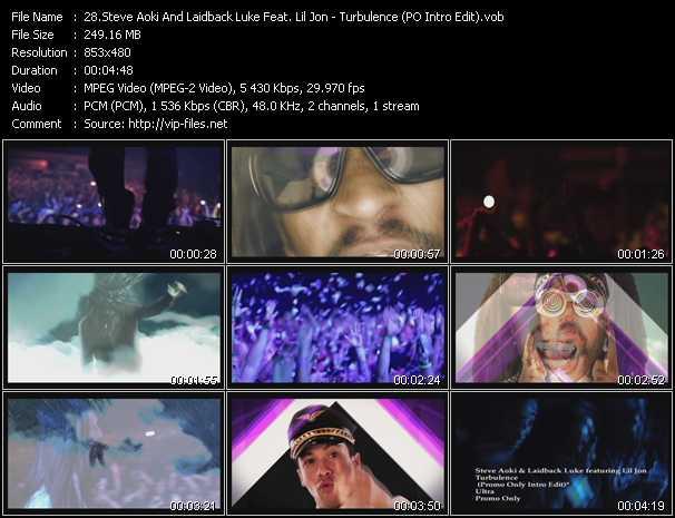 Steve Aoki And Laidback Luke Feat. Lil' Jon - Turbulence (PO Intro Edit)