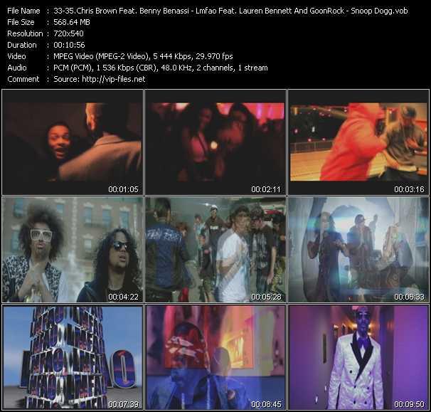 Chris Brown Feat. Benny Benassi - Lmfao Feat. Lauren Bennett And GoonRock - Snoop Dogg - Beautiful People - Party Rock Anthem - Sweat (Wet) (PO David Guetta Intro Edit)