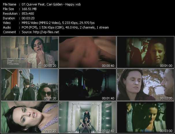 Quivver Feat. Cari Golden - Happy