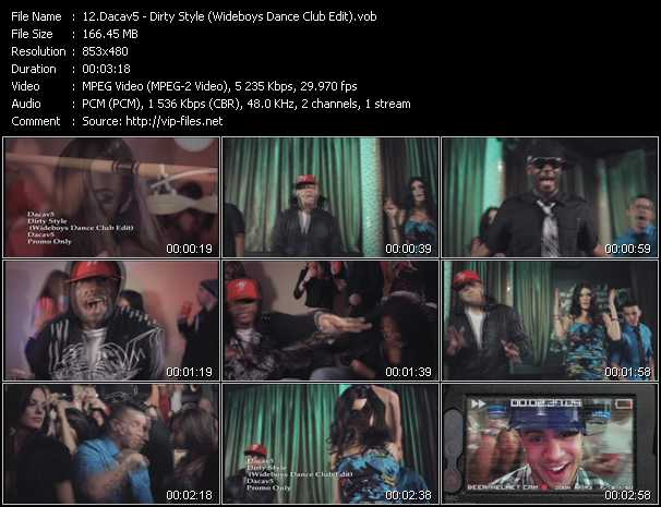 Dacav5 - Dirty Style (Wideboys Dance Club Edit)
