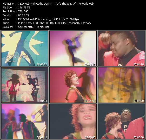 D-Mob With Cathy Dennis - That's The Way Of The World