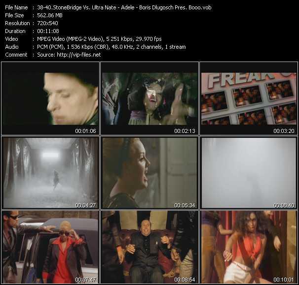 Stonebridge Vs. Ultra Nate - Adele - Boris Dlugosch Presents Boom! - Freak On - Rolling In The Deep (PO Downtown London Intro Edit) - Keep Pushin'