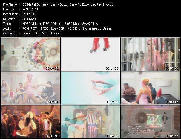 Meital Dohan - Yummy Boyz (Chew Fu Extended Remix)