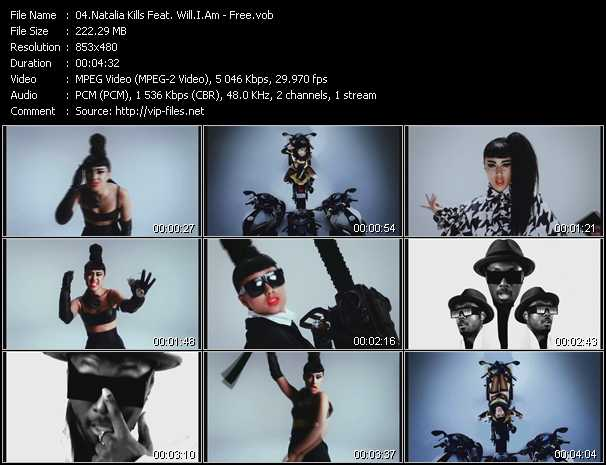 Natalia Kills Feat. Will.I.Am - Free